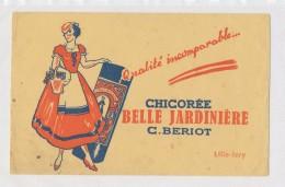 Publicite - Buvard - Chicoree BELLE JARDINIERE - J