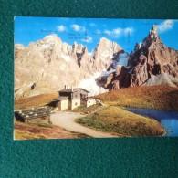 Cartolina Dolomiti Passo Rolle Baita Segantini M 2200 Timbro Sport Demez Viaggiata - Trento