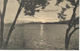 SUNSET OFF  GASPAREE ISLAND. TRINIDAD. B.W.I. - Trinidad
