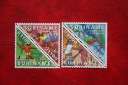 Surinam / Suriname 2000 Olympic Games Sydney Sport Football  (ZBL 1075-1078 Mi -  Sc -) POSTFRIS / MNH ** - Surinam