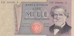 ITALY 1000 Lire 1980 - [ 2] 1946-… : Repubblica
