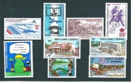 Nouvelle Calédonie  Timbres De 1976/77   N°199 A 177 Neufs Tres Petite Trace De Charnière - Unused Stamps