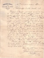 ITALIE - PIETRASANTA , TOSCANE - SULTORE IN MARMO , SCULPTEUR DE MARBRE - FERRUCCIO PESETTI - LETTRE - 1907 - Italy