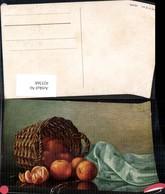 425368,Künstler Ak M. Billing Orangen Obst Korb Stillleben Essen Trinken - Küchenrezepte