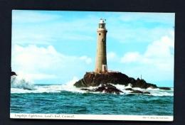 ENGLAND  -  Lands End  Longships Lighthouse  Used Postcard - Lighthouses