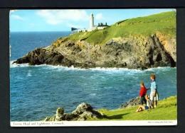 ENGLAND  -  Trevose Head Lighthouse  Used Postcard - Lighthouses
