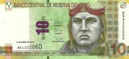 PERU 10 NUEVOS SOLES 2013 P-182b UNC  [ PE182b ] - Peru
