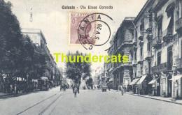 CPA  CATANIA VIA ETNEA CARONDA - Catania