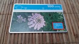 Phonecard Gibraltar Flowers  230 A