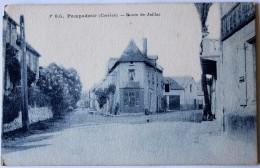 CPA 19 POMPADOUR Route De Juillac - Altri Comuni