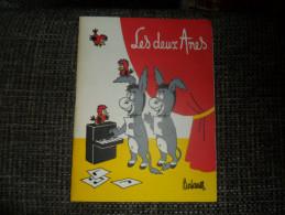 ANCIEN PROGRAMME / THEATRE LES DEUX ANES / PARIS / ANNEES 60 - Théatre & Déguisements