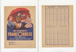 Publicité - Protege-Cahier - FRANCORUSSE - Blotters