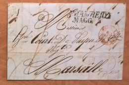1848 Form Chambery To Marseille  With Complete Text - Storia Postale