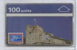 Gibraltar 101K  - Castle, 100u