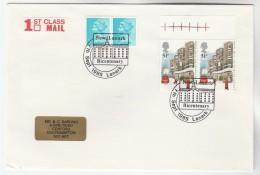 1985 Lanark GB Stamps COVER 'NEW LANARK BICENTENARY'  EVENT Pmk  Mail Anniv Stamps - 1952-.... (Elizabeth II)