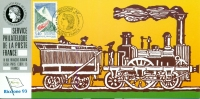 108 Carte Officielle Exposition Internationale Exhibition Riccione 1993 FDC Train D´Artouste Zug Eisenbahn Railways - 6. 1946-.. Repubblica