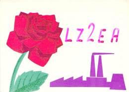 Amateur Radio QSL Card - LZ2EA - Bulgaria - 1967 - 2 Scans - Radio Amateur