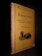 """""""NATURLEHRE"""" Ecole Schule Schoole Physique Physik Science Wissenschaft Gravure Gravur Engraving WILDERMANN Freiburg 1938 - Schulbücher"""