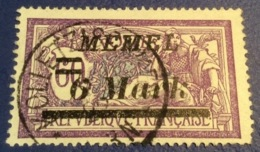 Memel Memelgebiet Cad / Stempel KOLLETZISCHKEN 1922 Geprüft Dr. Petersen BPP Michel 92 Merson - Memel (1920-1924)
