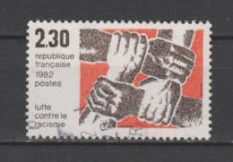FRANCE / 1982 / Y&T N° 2204 : Lutte Contre Le Racisme - Choisi - Cachet Rond - Frankreich