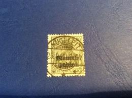 Memel Memelgebiet Cad / Stempel KUGELEIT 1920 Geprüft Dr. Petersen BPP Michel 16x Germania - Memel (1920-1924)