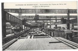 VILLERUPT ACIERIES DE MICHEVILLE (54) évacuation Des Trains Quai De Chargement - Non Classés