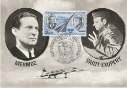 MERMOZ SAINT EXUPERY - Airmen, Fliers