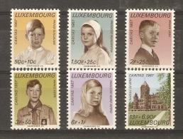 Luxembourg 1967 - Caritas - Série Complète  710 à 715 - MNH - Princes(ses) Guillaume - Jean - Henri - Margaretha - Marie - Luxembourg