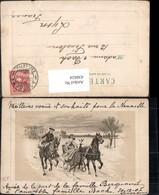 430424,Künstler Ak Frau Pferdeschlitten Kutsche Mann A. Pferd Winterlandschaft Passep - Taxi & Carrozzelle