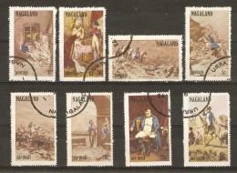 Nagaland 1972 - Napoléon - Série Complète - Cinderellas - Vignettes - Napoléon