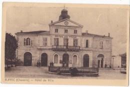 RUFFEC  -  Hôtel De Ville. - Ruffec