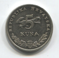 CROATIA - 5 Kuna, 2000. Ursus Arctos, Bear - Kroatien