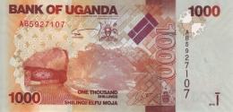 UGANDA 1000 SHILLINGS 2010 P-49a UNC [UG154a] - Uganda
