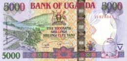 UGANDA 5000 SHILLINGS 2009 P-44d UNC [UG149d] - Oeganda