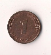 ALEMANIA 1  PFENNIG  1976  F - 1 Pfennig