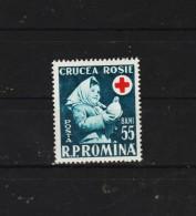 1957 -  CROIX-ROUGE Mi No 1665 Et Yv No 1535 MNH - 1948-.... Republiken