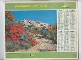 Calendrier Almanach Des P.T.T De 1964 Photo Vallée De Lesponne Et Villeneuve - Complet - Calendriers