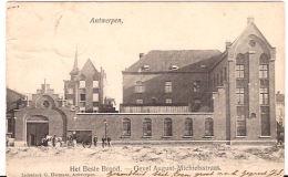 Antwerpen Het Beste Brood Gevel August- Michielstraat 1906 Stempel R  6/042 - Antwerpen