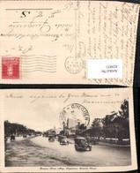 429851,Argentina Buenos Aires Avenida Alvear Straßenansicht Autos - Argentinien