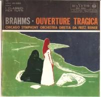 BRAHMS OUVERTURE TRAGICA FRITZ REINER NM/NM - Classica