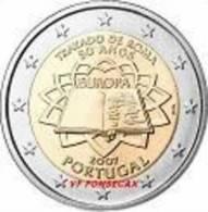 VF MOEDAS DE 2 EUROS DE PORTUGAL CC TRATADO DE ROMA  2007 - Portogallo
