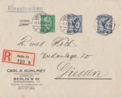 DR R-Brief Mif Minr.2x 380,411 Berlin 5.4.29 - Deutschland