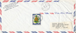 Guinea Air Mail Cover Sent To USA Conakry 10-3-1964 Single Franked UN 15th. Anniversary - Guinea (1958-...)