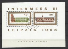 DDR - Block Nr. 24 Briefmarkenausstellung INTERMESS III Gestempelt FREIBERG - [6] République Démocratique