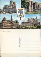 Ak  Frankreich  - Reims - Stadtansichten - Wappen - Reims