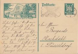 DR Ganzsache Minr.P164/010 Frankfurt Haus Der Technik  Cassel 7.5.26 - Deutschland
