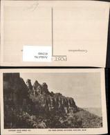 432980,New Zealand Neuseeland Blue Mounts Katoomba Three Sisters Felsen - Ansichtskarten