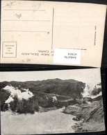433014,New Zealand Neuseeland Frying Pan Flat Heißwasser Bergkulisse - Ansichtskarten