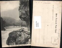 432976,New Zealand Neuseeland Buller Gorge Hawks Craig Fluss - Ansichtskarten