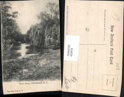 432974,New Zealand Neuseeland Christchurch River Avon Fluss - Ansichtskarten